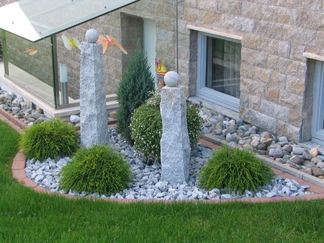 vorgarten mit steinen gestalten – nomadx, Hause und garten